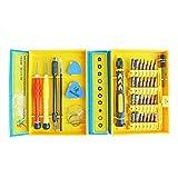 ihuniu ihn10157Präzisions-Schraubendreher-Set mit magnetischer und Pinzette Pry Tool Saugnapf, 30Bits