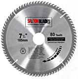 TCT18580T Saxton TCT Circular Wood Saw Blade 185mm x 30mm x bore x