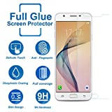 DigiPrints Samsung Galaxy J7 Prime 2 Tempered Glass,Premium Series 2.5D Full Screen Guard for Samsung Galaxy J7 Prime 2,Anti-explosion, Anti-fingerprint, Oil Resistance, Shatterproof edge, Anti-glare, Sensitive touch, HD display,Tempered Glass Screen Protector for Samsung Galaxy J7 Prime 2,