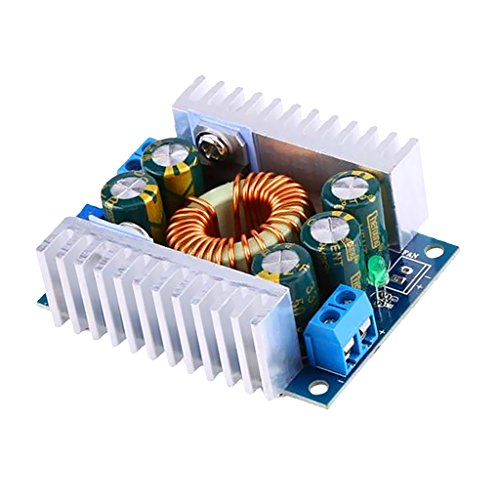 MagiDeal DC Car Power Supply Voltage Regulator Buck Converter 12A/200W 12A Max DC 5~40V to 1.2~36V Step Down Volt Convert Module