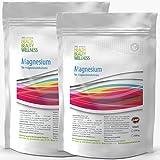 MAGNESIUM CITRAT | 1kg (2x 500g) Reines Pulver | Magensiumcitrat - bei Müdigkeit, Muskelkrämpfen, Magnesium-Mangel | 100% Rein Ohne Zusatzstoffe | Premium Qualität