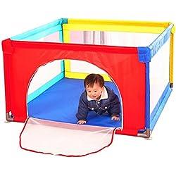Der Zaunzaun-Innenspielplatzkindersicherheitszaun-Ozeanball-Poolsicherheit faltbarer des Babyzaunhauptsicherheitsaktivitätszentrum-Kinderspieles ( Color : Color , Size : 100*100*70cm )