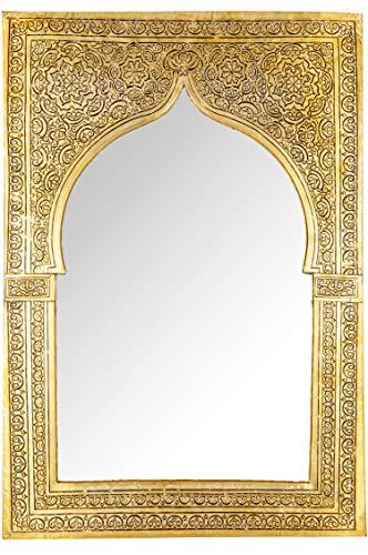 Marrakesch Orient & Mediterran Interior ® Orientalische Spiegel Malika Goldfarbig Gross