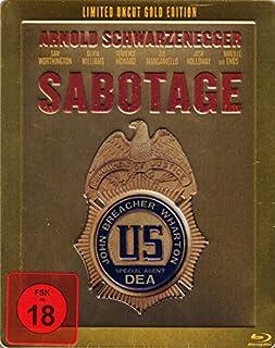Sabotage (Steelbook) (Uncut) [(Limited Gold Edition]