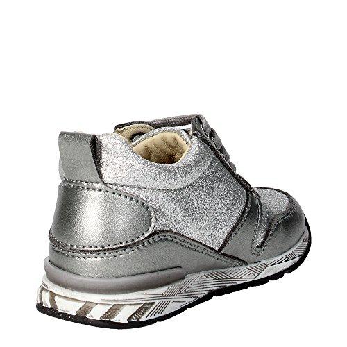 Falcotto DAISY FLASH/GLITTER Sneakers Mädchen Leder Silber Silber