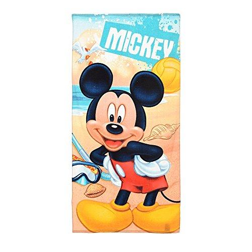 BADETUCH DISNEY MICKEY MOUSE IN Baumwolltuch CM. 140x70 - QE4192 / 2