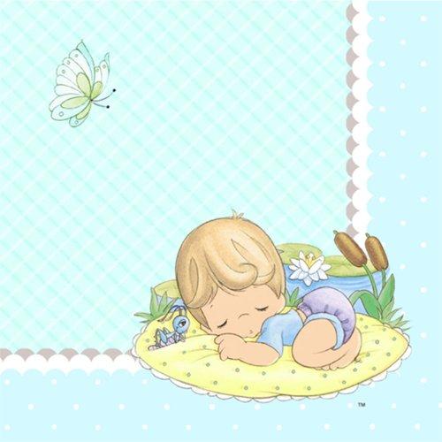 Hallmark 221426 Precious Moments Baby Boy Getr-nke Servietten