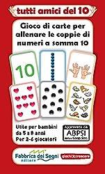Il MAZZO di carte contiene: 6 serie di carte da 0 a 10, con la carta 5 in doppia copia (cifre, abaco, dita delle due mani, cuori schierati, pallini random, gattini). Lo scopo di ogni gioco che si può fare con questo mazzo è accoppiare correttamente l...