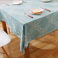 MEICHEN-Tovaglia ricamata tessuto della pastorale europea rettangolare tavolo da pranzo rotondo coperto desk coffee tovaglie tovaglioli tovaglie,Mat del singolo strato di 32*45