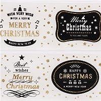 nastro adesivo decorativo bianco Natale Christmas auguri natalizi