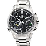 Casio Herren Chronograph Solar Uhr mit Edelstahl Armband EQB-700D-1AER