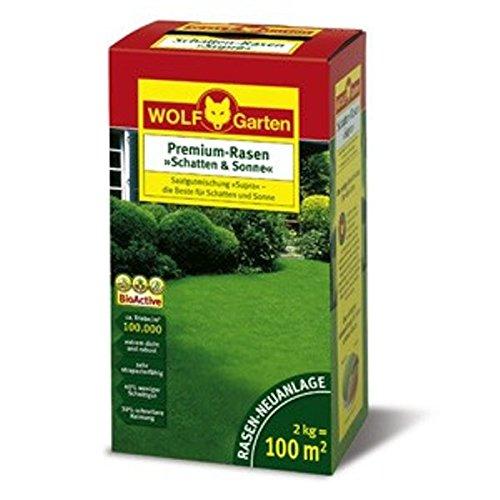 Wolf LP 100 Premium-Rasen »Schatten & Sonne«   2kg für 100qm