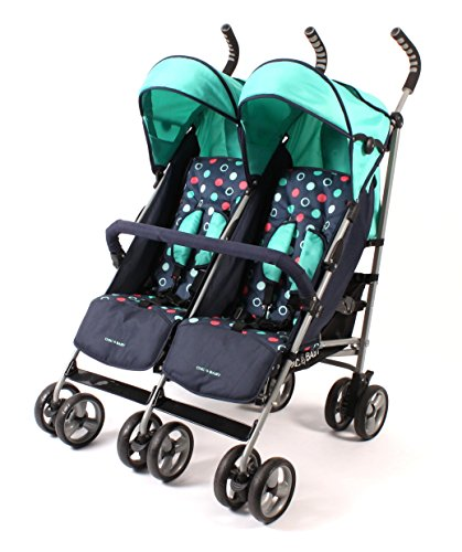 CHIC 4 BABY 324 21 Zwillingsbuggy, Menta