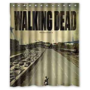 "The Walking Dead Custom Rideau de douche Waterproof Polyester Fabric Shower Curtain 60"" x 72"""
