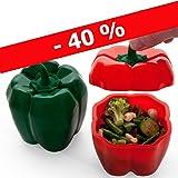 cookit-Zwei Papillote, Silikon Platin pepperoni-rouge und Grün Promo-40%