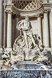 Poster 60 x 90 cm: Trevi-Brunnen in Rom von Reynold