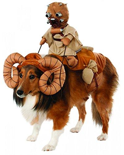 s Bantha Hundekostüm für Fasching & Halloween (Halloween Planet Kostüme)
