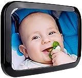 FILFIA Autospiegel Baby groß Rücksitzspiegel zur Beobachtung Ihres Babys im Auto, Kinderleichte Montage