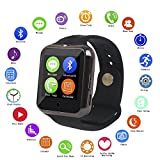#9: Smart Watch with Anti-lost, Bluetooth Android & Ios Connectivity, with sim & memory card supported