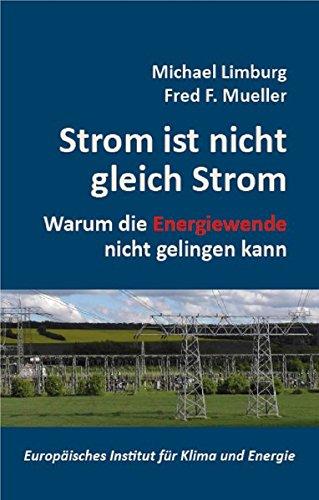 Strom ist nicht gleich Strom: Warum die Energiewende nicht gelingen kann (Schriftenreihe des Europäischen Instituts für Klima und Energie)