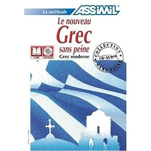 Le nouveau grec sans peine (moderne). Con 4 CD