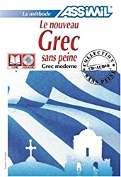 Le Nouveau Grec sans Peine ; Livre + CD Audio (x4)