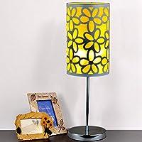 LEDMLSH Tischlampe Chrom Warm und romantische Blume Schlafzimmer Bedside Study Room Wohnzimmer Modern Creative... preisvergleich bei billige-tabletten.eu