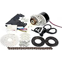 L-faster 24V36V250W Electric Conversion Kit for Common Bike Left Chain Drive Customized for Electric