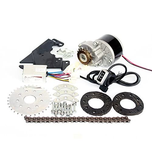 51LyBBTKoCL. SS500  - L-faster 24V36V250W Electric Conversion Kit For Common Bike Left Chain Drive Customized For Electric Geared Bicycle Derailleur