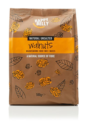 Amazon Marke - Happy Belly Walnüsse, 500 g