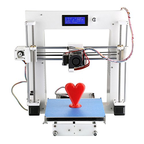 Aurora A3 Desktop 3D Drucker DIY Kit hohe Präzision 3D Drucker Blechrahmen Cura Software Injection mit LCD-Bildschirm Molded ON / OFF Schalter aus Line Druck Selbstorganisation