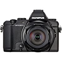 Olympus Stylus 1s Digital Compact Camera - Black (12 MP, 10.7x Zoom, Wi-Fi) 3-Inch LCD