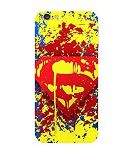 Superhero Printed Back Cover for Iphone 6S