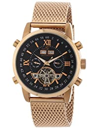 Ingraham Herren-Armbanduhr XL Calcutta Analog Automatik Edelstahl beschichtet IG CALC.1.223307