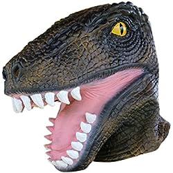 Gorgebuy Máscaras de la novedad Máscara artificial de la cabeza de dinosaurio para Halloween Festivales Costume Dress Party
