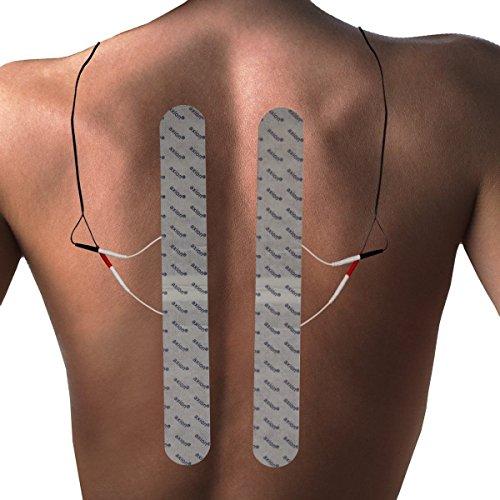 Elektroden-Set gegen Rückenschmerzen. Für TENS-Therapie gegen Beschwerden an Rücken, Nacken & Schultern - 4