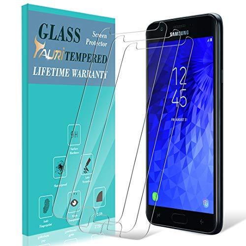 Galaxy J72018Displayschutzfolie, [3er Pack] taurer [gehärtetem Glas] Displayschutzfolie für Samsung Galaxy J7Aero/J7Top/J7Eon/J7Aura mit Lebenslange Umtausch-Garantie Aero Screen