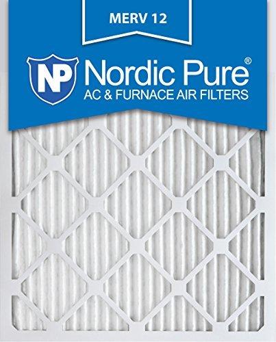 Nordic Pure 16x 20x 1M12-6Merv 12Bundfaltenhose Klimaanlage Ofen Filter, Box von 6von Nordic Pure (20x16x1 Ofen-filter)
