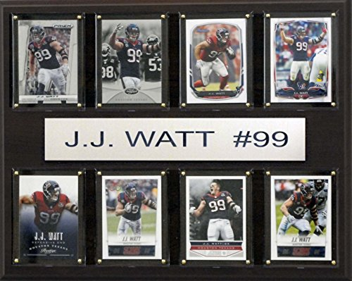 NFL Houston Texans J. J. Watt gefaltet Plaque, 12x 15Zoll