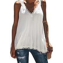 sitio oficial moda de lujo gran venta Camisetas Mujer Baratas - Negro - Amazon.es