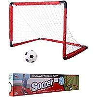 a1c8a26735143 Mecotech Cage de Foot Enfant But de Foot Pliable Mini But de Football Cage  Entrainement pour