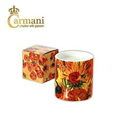 Idea Regalo - Carmani - Art Collection - candela Fancy decorate con