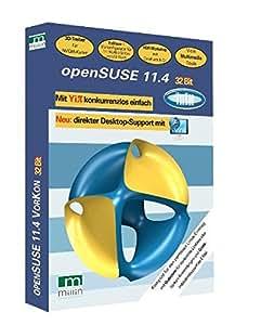 openSUSE 11.4 32 Bit: Vorkon
