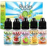 E Flüssigkeit E Saft, Oucles 5 x 10ml E flüssige Mischfrüchte | Tulli Fruilli | Erdbeere-Creme | Hizenburg | Banane... preisvergleich bei billige-tabletten.eu