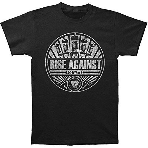 Greucy-darkRise Against Tube Amp Men's T-Shirt - Black