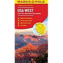 USA West Marco Polo Map (Marco Polo Maps)