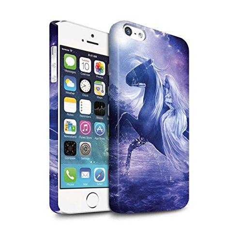 Officiel Elena Dudina Coque / Clipser Matte Etui pour Apple iPhone SE / Pack 9pcs Design / Super Héroïne Collection Amazona