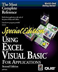Using Excel Visual Basic for Applications, Special Edition by Jeff Webb (1996-01-02)