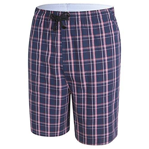 Honeystore Herren Sommer Strand Shorts Badeshorts Badehose Boardshorts mit Muster S47