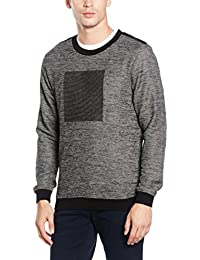 Antony Morato-Pull Col Rond-Homme-Gris (XL)